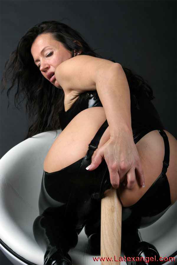 Have sex a baseball bat.  As per request i stuff my mouthand my pussywith a Baseball Batduring a photo session.
