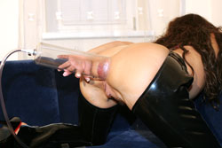 Female Anal Pumping